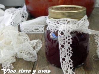 mermelada vino tinto y uvas 6